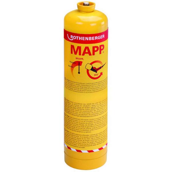 "Gaz MAPP Rothenberger gwint EU 7/16"" 360º C"