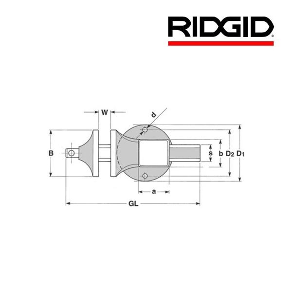 """Imadło stołowe RIDGID Superior 120 rury 3/8-3"""""""