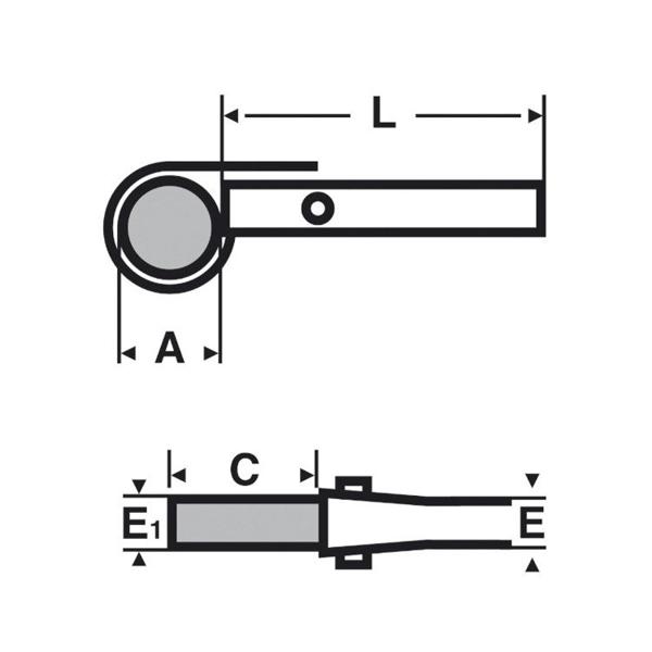 """Klucz łańcuchowy Gripping 14"""" VIRAX 014100"""