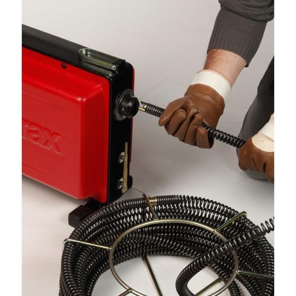 Przepychacz elektryczny z odcinkami linek VAL 96QC VIRAX [RÓŻNE MODELE DO WYBORU]