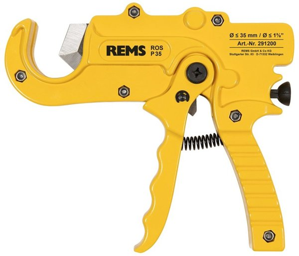 REMS ROS P 35. Nożyce do rur