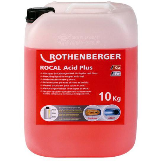 Środek do odkamieniania ROCAL Acid Plus 25kg 1500000914 ROTHENBERGER