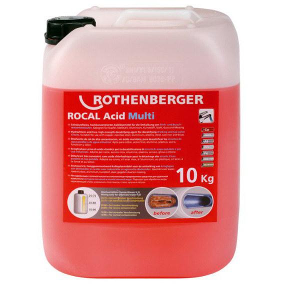 Środek do odkamieniania ROCAL Acid Plus 5kg 61105 ROTHENBERGER