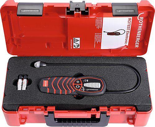 Wykrywacz gazu ROTEST® Electronic 4 z certyfikatem kalibracji