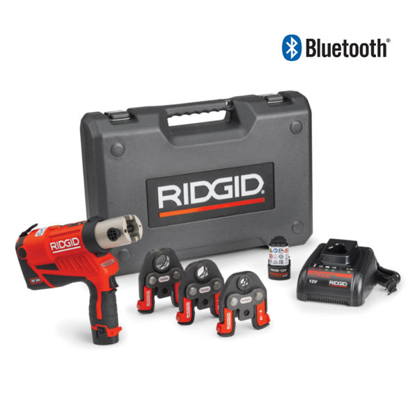 ZACISKARKA RIDGID RP 240 ZESTAW TH 16 - 20 - 26  Bluetooth