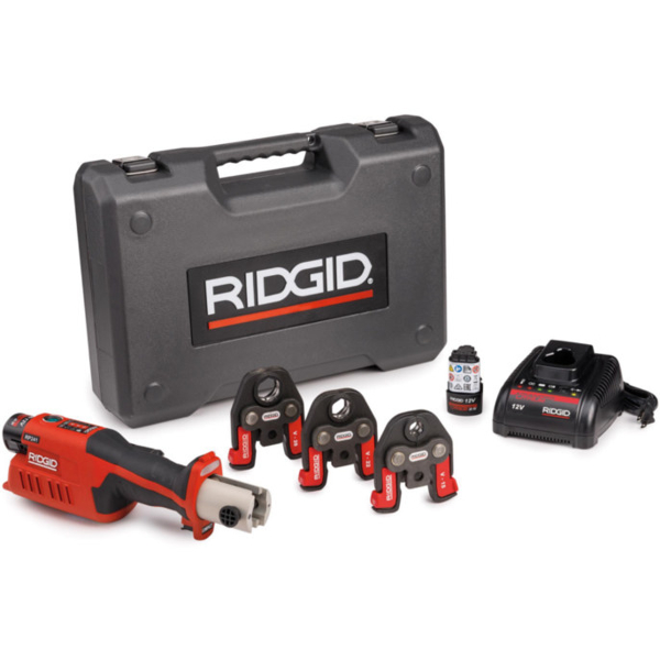 ZACISKARKA RIDGID RP 241 ZESTAW V 15 - 22 - 28  Bluetooth
