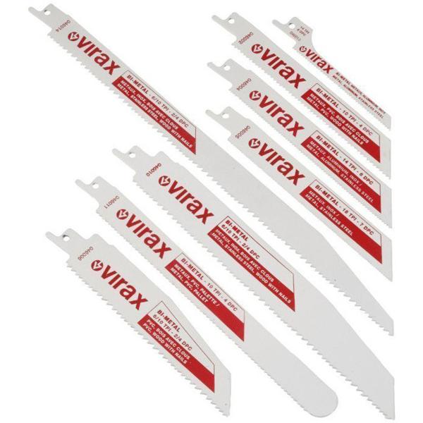 Zestaw 5 brzeszczotów z hss bi-metal VIRAX 046010